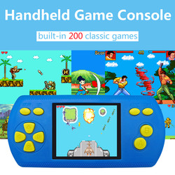 Portable Mini Retro Game Console Handheld 2.2 Inch Game Console Video Game Built-in 200 Classic Game Player @11