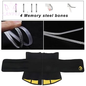 LANFEI Mens Thermo Neoprene Body Shaper Waist Trainer Belt Slimming Corset Waist Support Sweat Cinchers Underwear Modeling Strap 3