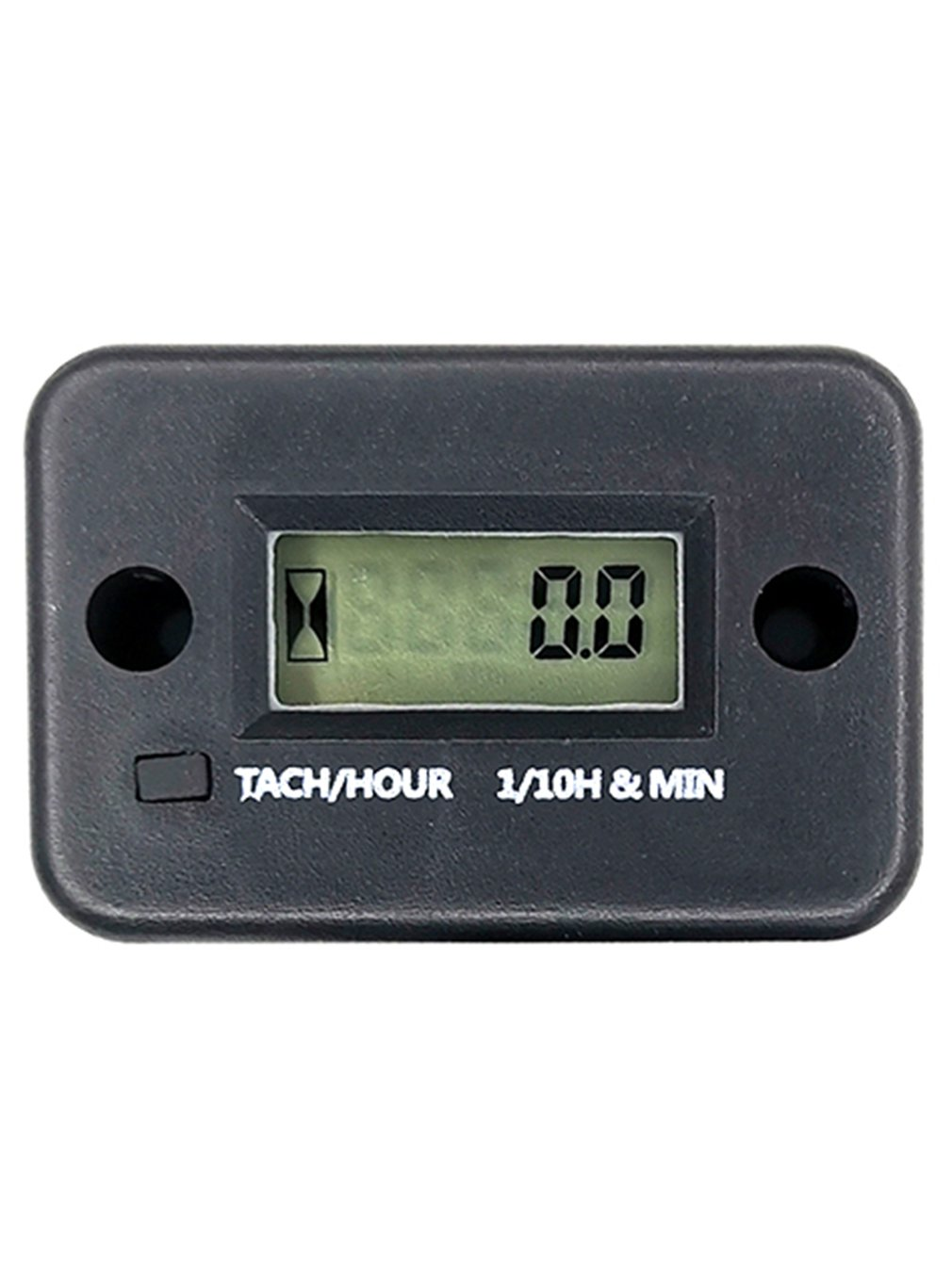DJ-A03 2 Hour Meter LCD Display Portable Tachometer Timer Chainsaw Tachometer Digital Engine Chronograph