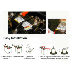 Image 4 - CLEN nowy model 400Ah inteligentny automatyczny impuls samochodowy akumulator kwasowo ołowiowy odsiarczający Regenerator regenerujący