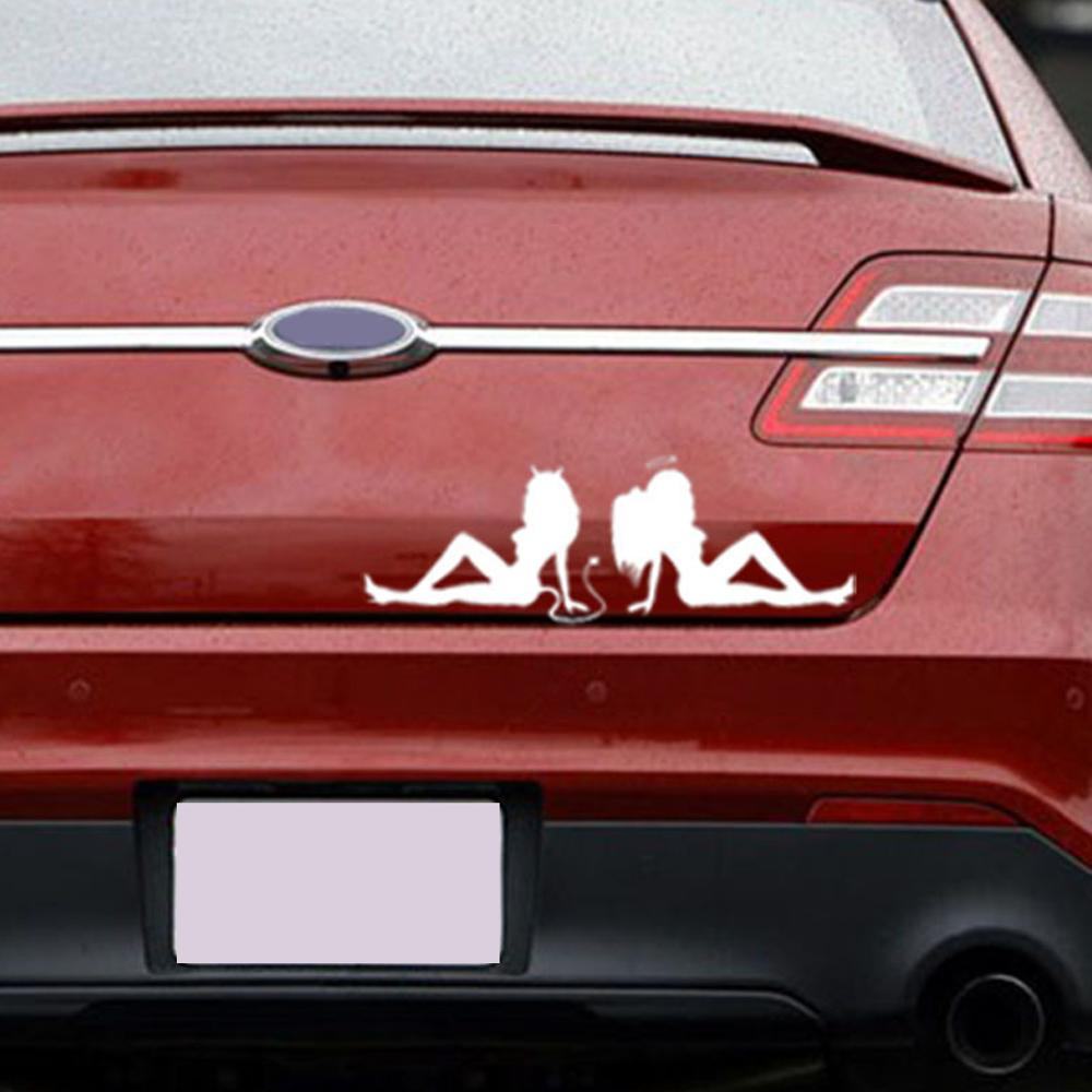 "Red Evil Devil Decal Sticker JDM Funny Vinyl Car Window Bumper Truck Laptop 7/"""