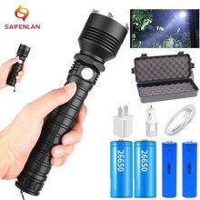 USB LED Taschenlampe Hohe lumen xhp70.2 mächtigsten Taschenlampe 26650/18650 Taschenlampe xhp70 xhp50 Laterne Jagd Lampe Hand Licht