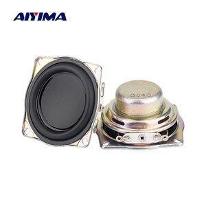 Aiyima 2 pçs 1.5 polegada alto-falante de áudio gama completa 4 ohm 10w neodímio magnético altifalante para harman kardon diy casa amplificador
