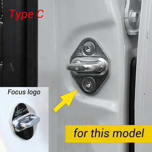 Image 4 - For Ford Kuga Focus Mustang Explorer Mondeo Edge Taurus F150 2008 2020 Car Door Lock Cover Protective Caps Case Styling
