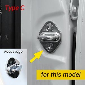 Image 4 - Housse de protection pour serrure de porte de voiture, pour Ford Kuga Focus Mustang Explorer Mondeo Edge Taurus F150 2008 2020