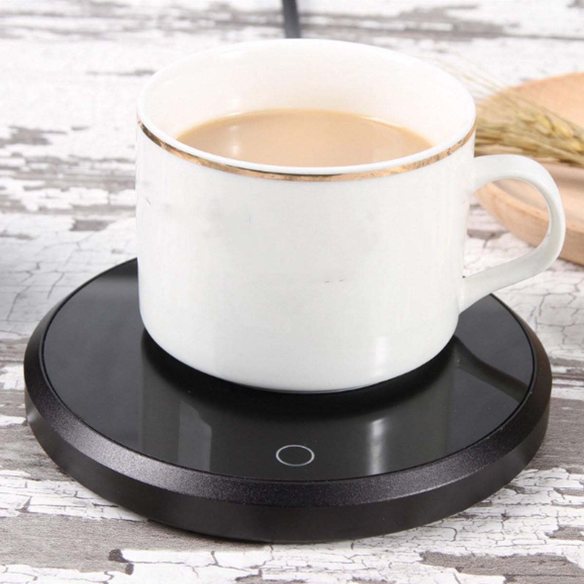 110v Электрический Водонепроницаемый сенсорный нагревательный коврик теплый коврик для Кофе Чай для подогрева чашек