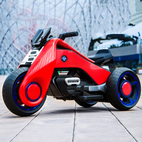 Mini children's electric motorcycle kids 1 3 tricycle can sit