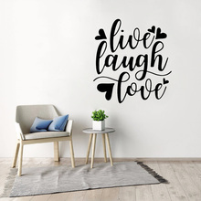 Motivational Quotes Wall Stickers Quote Love Live Laugh Vinyl Decal Inspirational Modern Home Decoration Removable Bedroom Decor yoyoyu wall decal quotes the kitchen is where the heart is vinyl wall stickers modern design fashion home decor interior diycy74