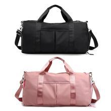 Handbags Sport-Bags Travel Black Women Nylon Pink-Color Outdoor Waterproof Large New