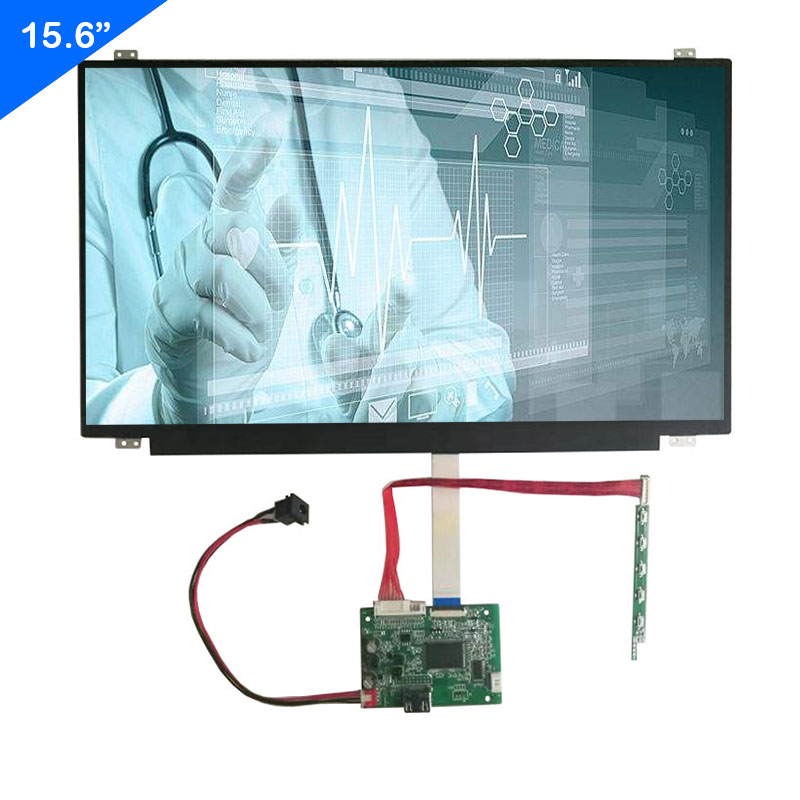 15.6 inch IPS 1920*1080 lcd led laptop screen display with Control board HDMI interface Can DIY Extend the screen title=