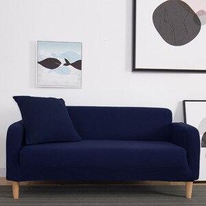 Image 5 - Winter Warm Fleece Cover Sofa Gebruik Voor Woonkamer Cubre Sofa Couch Cover All inclusive Stretch Elastische Slip Cover 1/2/3/4 zits