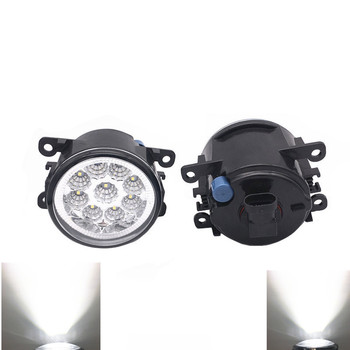 2pcs Car styling LED fog Lights with lens For Opel Astra OPC G H 2002-2010 For Opel Meriva A 2006-2010 image