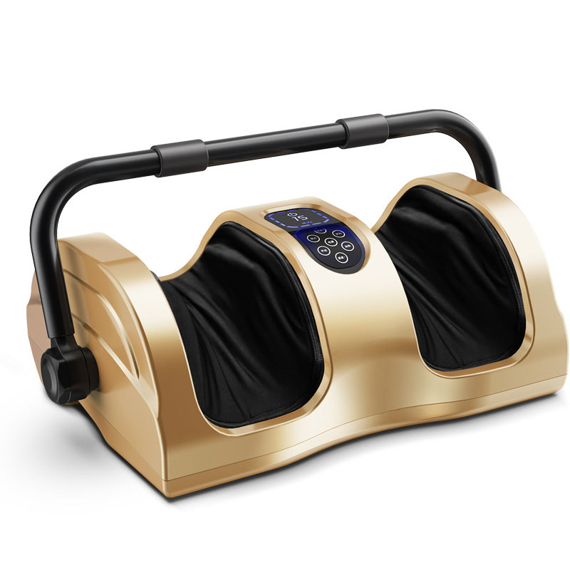 Foot Massage Machine Automatic Calf Soles Kneading Household Electric Wireless Remote Control Infrared Physiothera