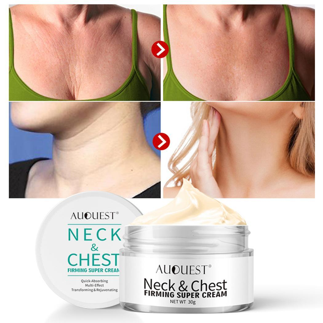 Women Neck Care Essence Lifting Firming ABS White Repair Cream Anti-wrinkle 30g