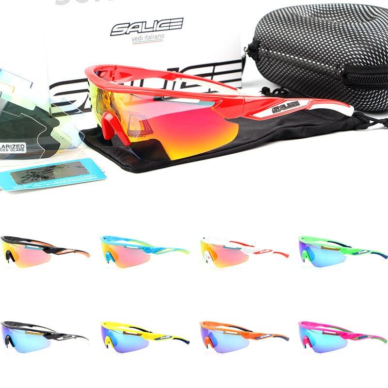 Salice 012 RW Glasses For Riding Mountain Bike Outdoor Sports Polarized Light Riding Mirror