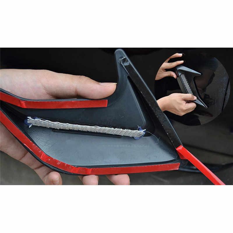 2pcs רכב אוטומטי צד Vent זרימת אוויר פנדר צריכת מדבקת רכב סימולציה צד פתחי אוורור דקורטיבי לjepp רכב כל מודלים הם כללי