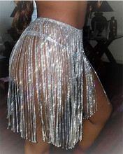 2019 plata oro diamantes de imitación cristal cintura cinturones mujeres borla ancha flecos Metal falda cinturón señoras Metal corsé Correa cadena del cuerpo
