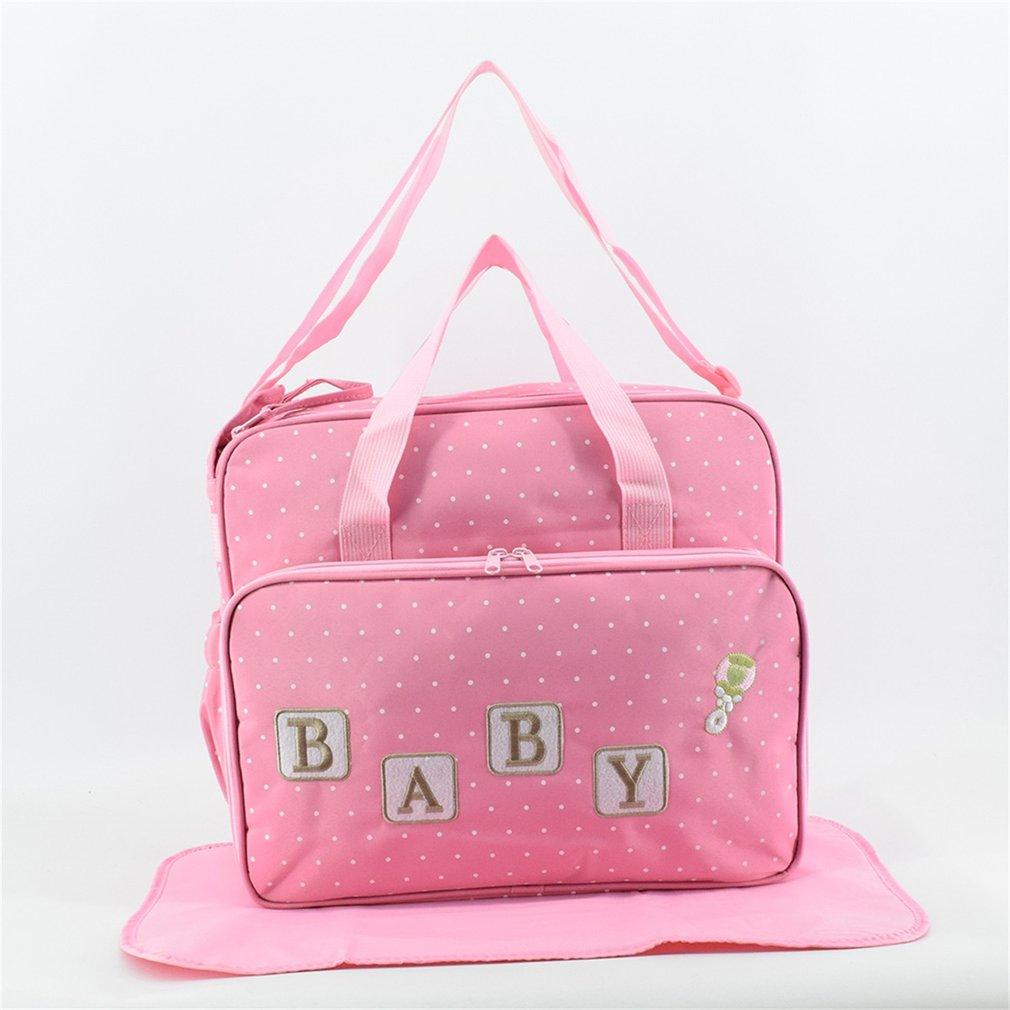 Large Capacity Eco-Friendly Mummy Maternity Nappy Bag Bags Multifunctional Shoulder Bag With Strap Handbag Nursing For Baby