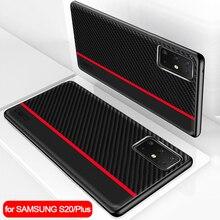 Samsung S20 durumda orijinal koruyucu kapak Samsung Galaxy S20 Ultra S11 S10 S9 S8 artı S10e 5G not 10 9 A50 A70 A51 kılıfı