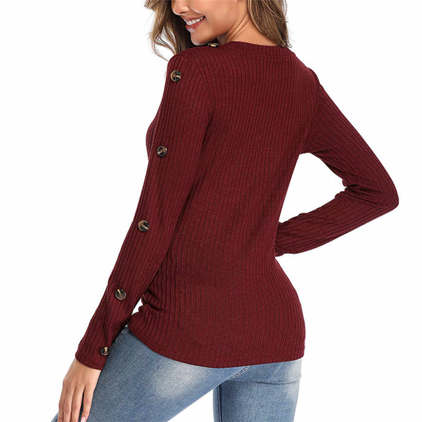 Abrigos mujer invierno 2019 풀오버 플러스 사이즈 여성 니트 솔리드 스웨터 블라우스 고품질 두꺼운 따뜻한 겨울 여성 스웨터