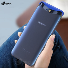 GKK Luxury Simple Case for Oppo Find X Case Translucent Anti-shock Ultra-thin Hard PC Matte Cover for Oppo Find X Coque Fundas gkk lifting upper case for oppo find x case 360 full protection 3 in 1 update baby skin hard cover for oppo find x case fundas