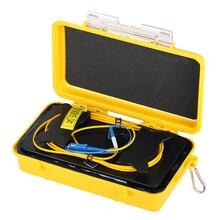 Free shipping SC/UPC LC/UPC OTDR Zone Eliminator,Fiber Rings ,Fiber Optic OTDR Launch Cable Box 500M 1Km 2Km SM 1310/1550nm