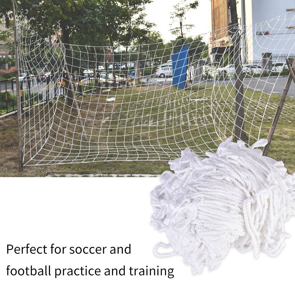 3 M X 2 M Hot Full Size Football Net For Soccer Goal Post Junior Sports Training Footbal Training Tool