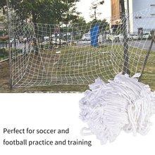 3 m X 2 m Hot Full Size Football Net for Soccer Goal Post Junior Sports Training Footbal Training Tool