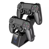 OIVO für PS4 Controller Lade Dock Station 5V/1A Dual Charger Stand mit Anzeige für Play Station 4/schlank/Pro controller