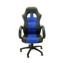 лучшая цена Blue adults gaming chair desk chair executive ergonomic swivel headrest lumbar support armrest rocker racing