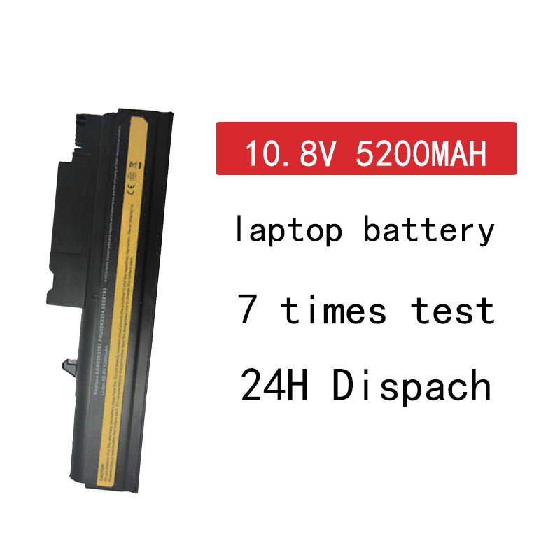 HSW 5200MAH 6 Cells Replacement Laptop Battery For IBM ThinkPad R50 R50E R50P R51 R52 T40 T40P T41 T41P T42 T42P T43 T43P Laptop