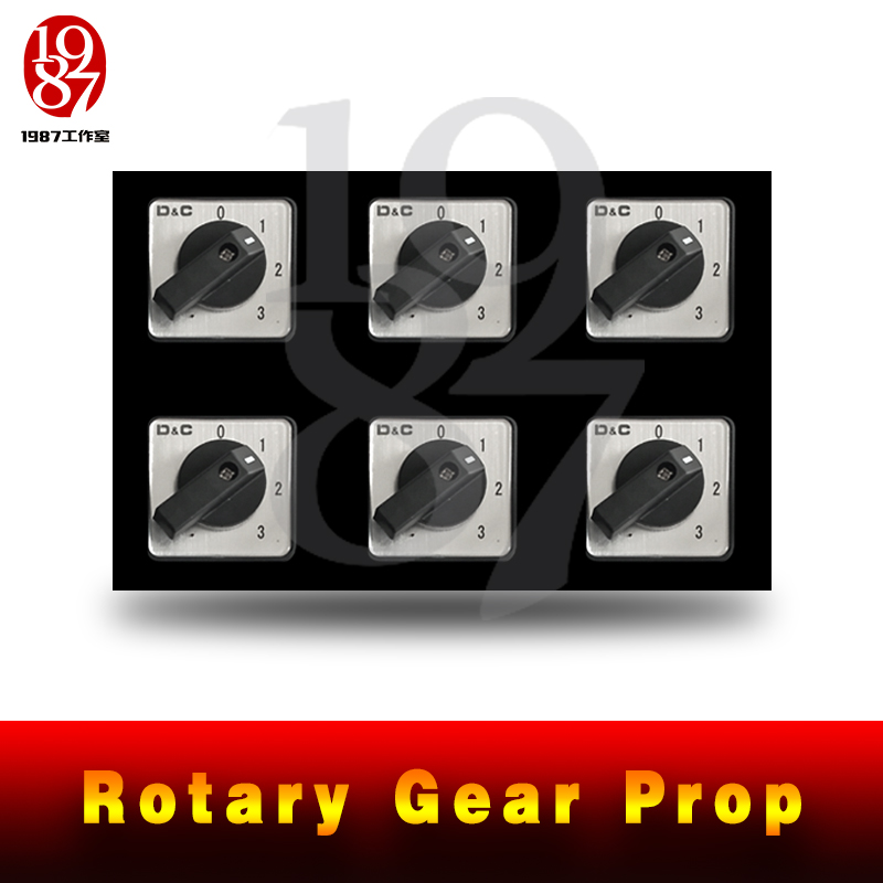 JXKJ1987 Real Room Escape Game Prop Rotary Gear Prop Turn All Gears To The Right Position To Released The Lock