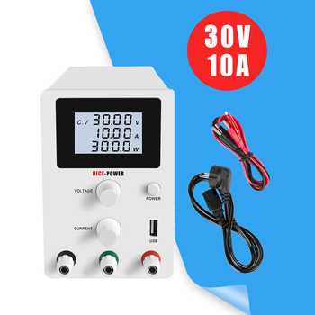 30V 10A LED Switching Adjustable DC Power Supply Laboratory Bench Source Digital Current Stabilizer 30 V