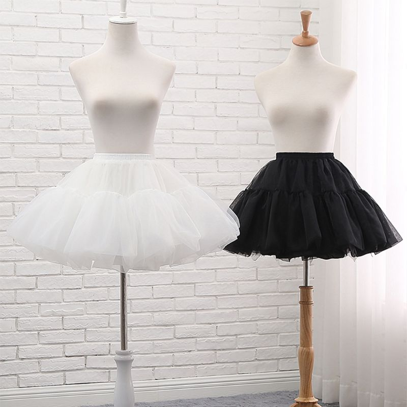 Fishbone Skirt Support Girls Cosplay Lolita Adjustable Violence Petticoat