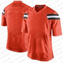 Популярные мужские дешевые футболки для футбола Clevelan d Fans Спортивная футболка Baker Mayfield Odell Beckham Jr Myles Garrett Kizer CHubb Orang