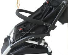Baby Stroller Accessories PU leather or EVA handrest Bumper Bar for Yoya Babyzen Yoyo Yuyu Bee 3 Bee 5  handrail Armrest