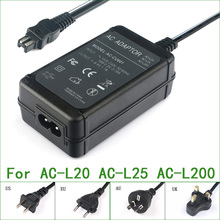 מתח AC מתאם מטען עבור Sony DCR SR68 DCR SR70 DCR SR72 DCR SR100 DCR SR190 DCR SR200 DCR SR210