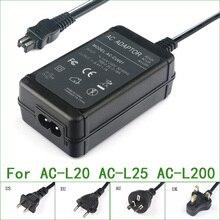 Cargador de CA/adaptador de corriente para Sony DCR SR68 DCR SR70 DCR SR72 DCR SR100 DCR SR190