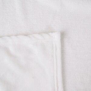Image 4 - Miracille özelleştirilmiş flanel battaniye peluş kişiselleştirilmiş battaniye yataklar için POD özel DIY ince yorgan kanepe kılıfı damla nakliye