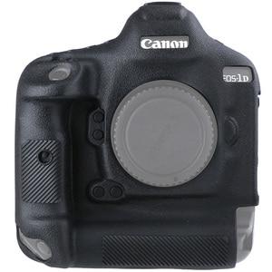 Image 3 - כיסוי עבור Canon 1DX סיליקון מצלמה מגן מקרה עבור Canon 1DX 1DX2 1DXII גבוהה כיתה ליצ י מרקם שאינו להחליק מצלמה כיסוי