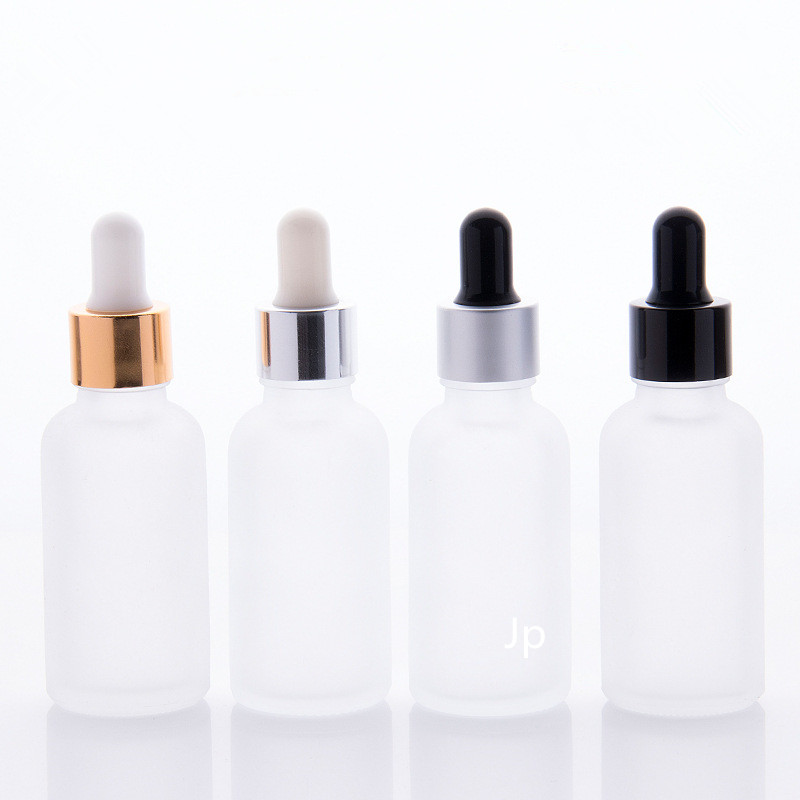200pcsx30ml Essential Oil Glass Bottle 1oz Glass Dropper Bottle With Bamboo Cap Glass Essential Oil Bottle Cosmetic Packaging