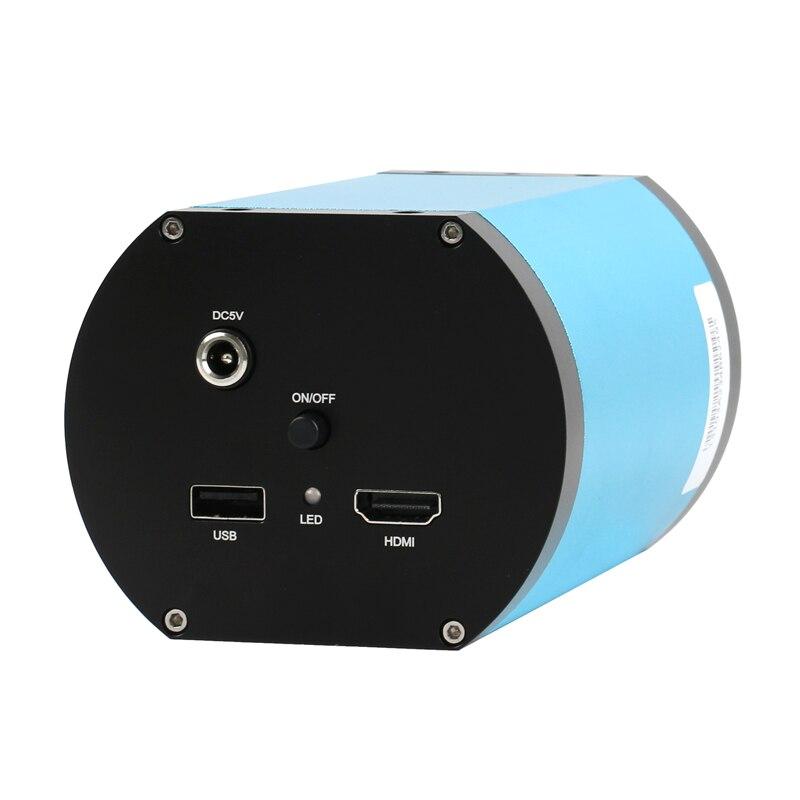 Autofocus FHD 1080P SONY IMX290 grand champ visuel électronique Auto Focus vidéo numérique Microscope caméra pour PC PCB SMD SMT