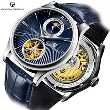 New PAGANI Design mechanical watches for men automatic watch luxury brand watch men 100M waterproof Tourbillon Relogio masculino(China)