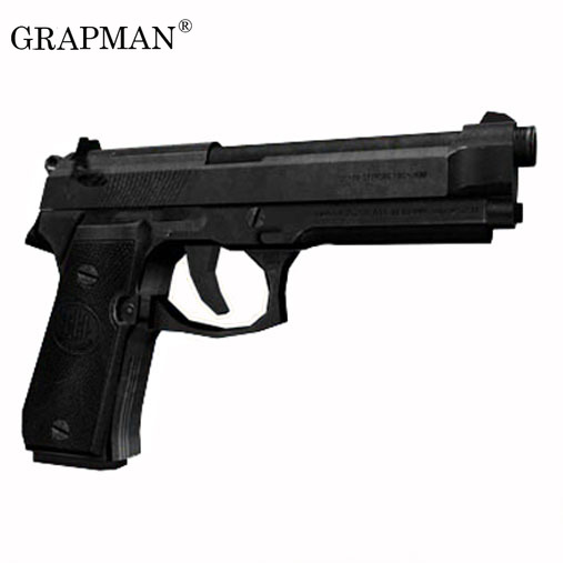 Belletta M9 Pistol Paper Model Weapon Gun 3D Handmade Drawings Military Jigsaw Puzzle Toys