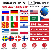 New 7600+ World IPTV Portugal Subscription 1 Year IPTV Italia UK Poland IPTV Spain M3U France USA Greece channels for Smart TV(China)