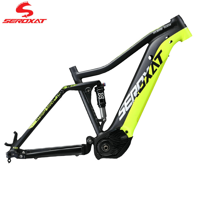 SEROXAT Mountain Bike Frame E-BIKE 29ER Motor Bike Frame Aluminum alloy Suspension Frame Electric Frame for MTB AM DH
