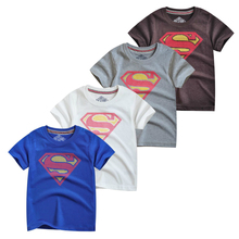T Shirt For Boys Superman Short Sleeve T-shirts For Boys Tops Youngster Tee Shirt Clothing Tshirt 7-13Years Clothes Tee merry christmas women t shirts deer tee plus size top woman love female long sleeve tshirt t tops love tee shirt punk
