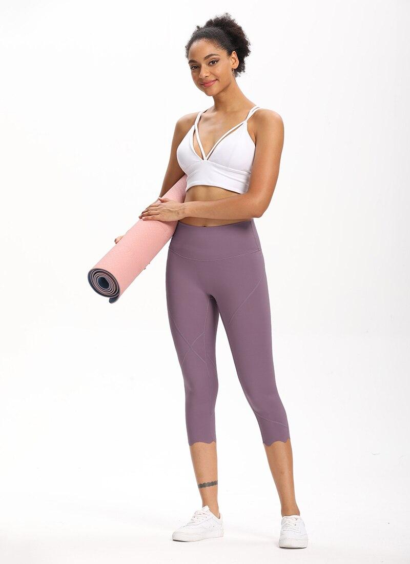 He2b0d0ab4e2f493d897ddfab9bf3f02aQ Cardism High Waist Sport Pants Women Yoga Sports Gym Sexy Leggings For Fitness Joggers Push Up Women Calf Length Pants Wave