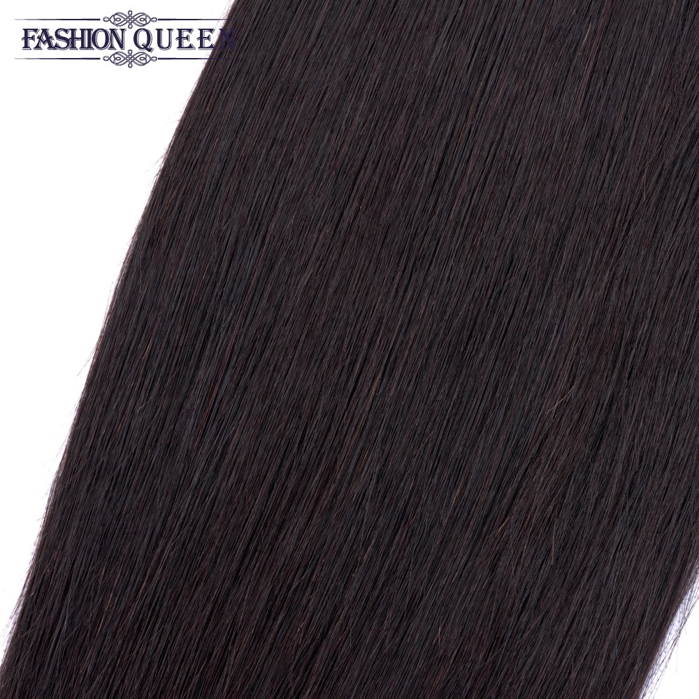 He2b0d63299c84bfeb9f13c2a654708f0k Brazilian Straight Hair Lace Frontal With Hair Weave Bundles Human Hair Extension Bundles With Frontal Non Remy Fashion Queen