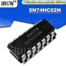 10PCS SN74HC02N DIP14 74HC02N SN74HC02 74HC02 DIP IC Integrado